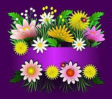 お花畑  (マイコレはポチ押す)の画像(プリ画像)