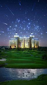 星降る夜のファンタジー  (マイコレはポチ押す) プリ画像