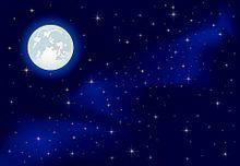 無断マイコレ🈲幻想的 満月 夜空 星空 素材の画像(幻想的に関連した画像)