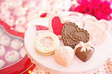 Valentine バレンタイン チョコ ハート 素材の画像(バレンタインに関連した画像)