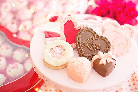 Valentine バレンタイン チョコ ハート 素材の画像 プリ画像
