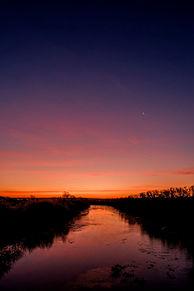 朝焼け 空 風景 自然 幻想的 壁紙 背景 素材の画像(幻想的に関連した画像)