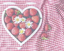 苺  いちご  イチゴ  ハートの画像(果物に関連した画像)