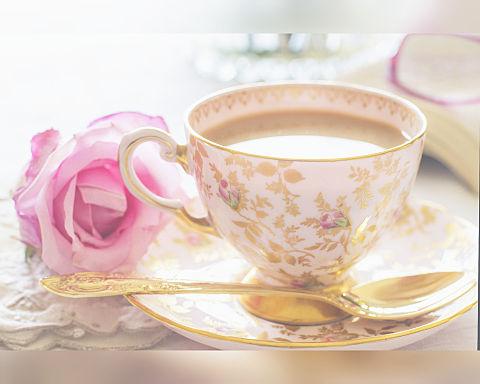 ティータイム  紅茶  ティーカップの画像 プリ画像