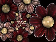 花柄  (マイコレはポチ押す)の画像(プリ画像)