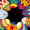 フレーム*Easter  Egg   (説明文 必読) プリ画像