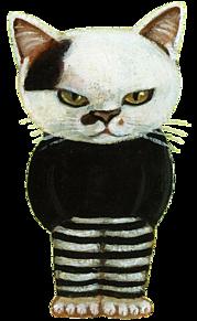 スタンプ*ブチ猫  (説明文 必読)の画像(プリ画像)