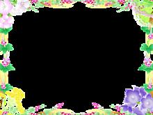 ふれぇむ*秋の七草 (背景透過)   (説明文 必読)の画像(プリ画像)