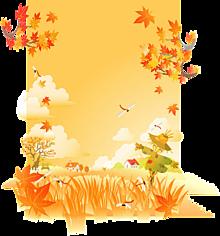 背景透過*秋の田舎の風景   (説明文 必読)の画像(プリ画像)