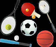 スタンプセット*スポーツの秋(背景透過)   (説明文 必読)の画像(プリ画像)
