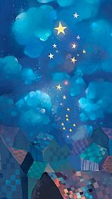 雲と星 (説明文 必読)の画像(プリ画像)
