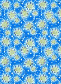 模様*額紫陽花にオーブの画像(プリ画像)