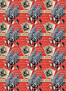 模様*ライラックのポストカード (説明文必読)の画像(プリ画像)
