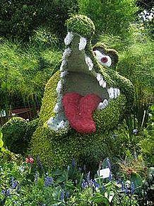 苔植物アート*チクタクワニの画像(プリ画像)
