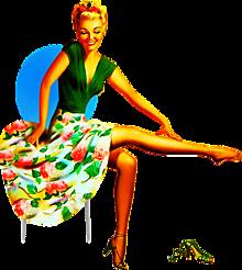 pinup girlの画像(60sに関連した画像)