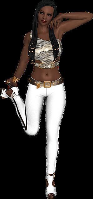 African girlの画像(プリ画像)