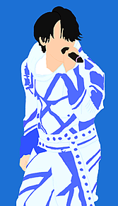 KATーTUN UNION 亀梨和也 ライブ衣装 線画 イラストの画像(KATーTUNに関連した画像)