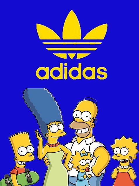 シンプソンズ シンプソン アディダス adidas 青 かっこいい