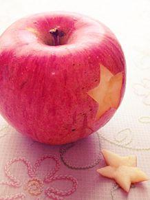 林檎の画像(くり抜きに関連した画像)