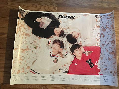 noovy 2018年カレンダーの画像(プリ画像)