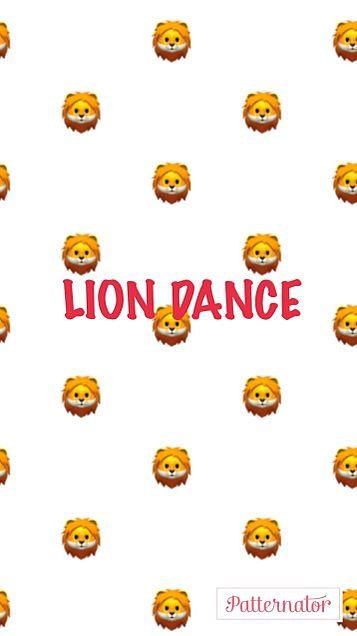 LION DANCE 壁紙 赤ver❤️の画像(プリ画像)
