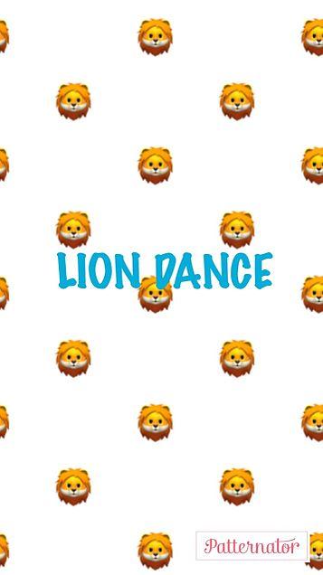 LION DANCE 壁紙 青ver💙の画像(プリ画像)