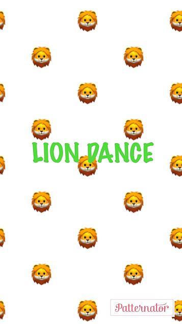 LION DANCE 壁紙 緑ver💚の画像(プリ画像)