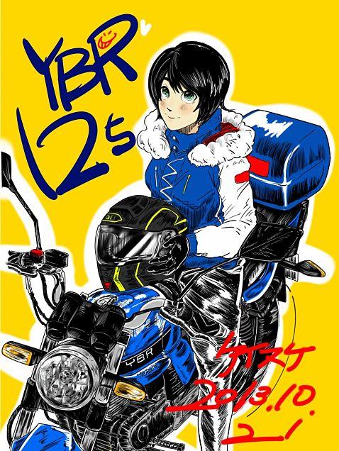 YBR125の画像(プリ画像)