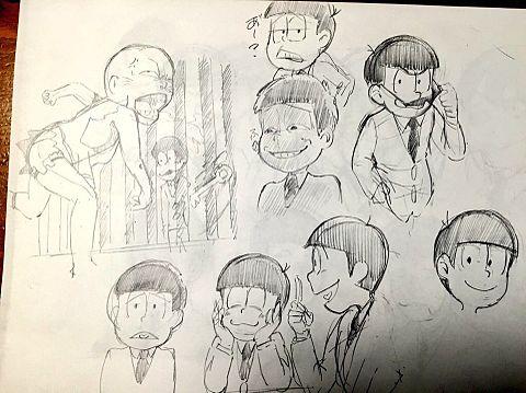 おそ松さん 練習の画像(プリ画像)