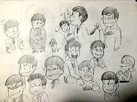 おそ松さん 練習の画像 プリ画像