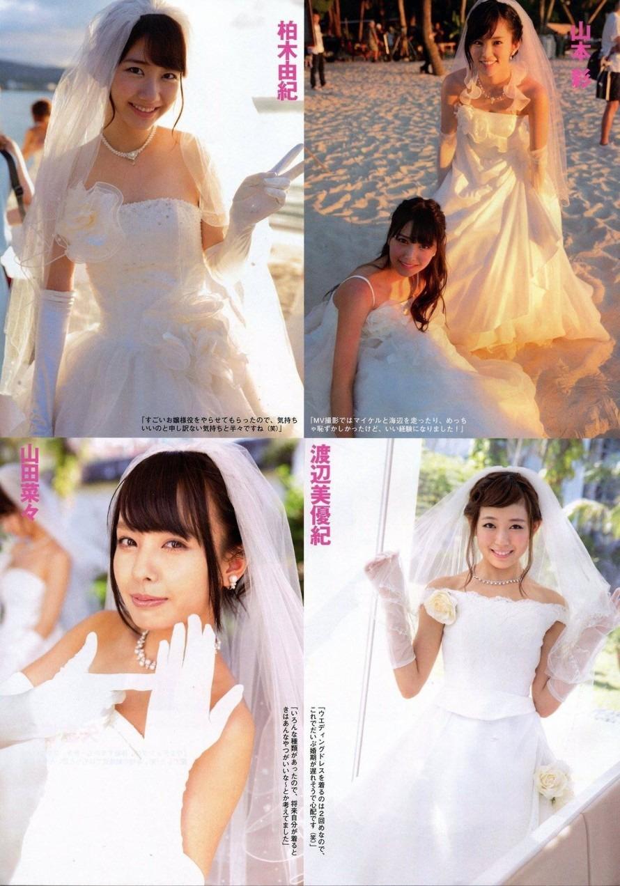 ウェディングドレス AKB48 SKE48 NMB48[34813219]|完全無料画像検索の ...