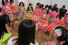 チームN NMB48 円陣の画像(プリ画像)