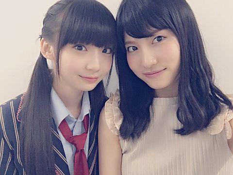 荻野由佳 谷口めぐ NGT48 AKB48の画像(プリ画像)