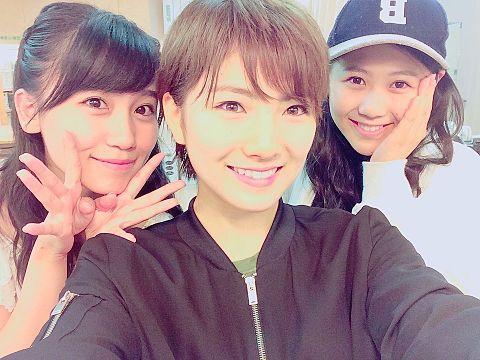 小嶋真子 岡田奈々 西野未姫 AKB48の画像(プリ画像)