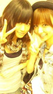あっちゃん前田敦子篠田麻里子 AKB48の画像(プリ画像)