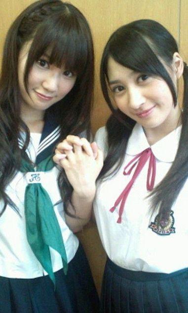 鈴木まりやまりやんぬ中塚智実クリスチームB チームK AKB48の画像(プリ画像)