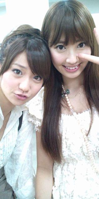 大島優子コリス小嶋陽菜こじはるにゃんにゃんこじゆうチームK チームA AKB48の画像(プリ画像)