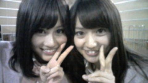 前田敦子あっちゃん大島優子コリスあつゆうチームA チームK AKB48  桜の木になろうの画像(プリ画像)