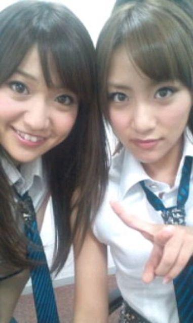 大島優子コリス高橋みなみたかみな FNS 歌謡祭ゆうみなチームK チームA AKB48の画像(プリ画像)