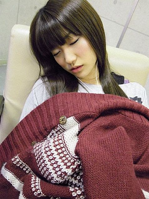 大島優子コリス寝顔チームK AKB48の画像(プリ画像)