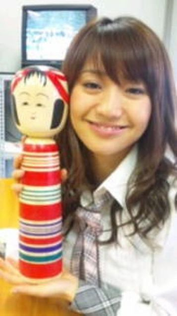 大島優子コリス変顔こけしチームK AKB48の画像(プリ画像)