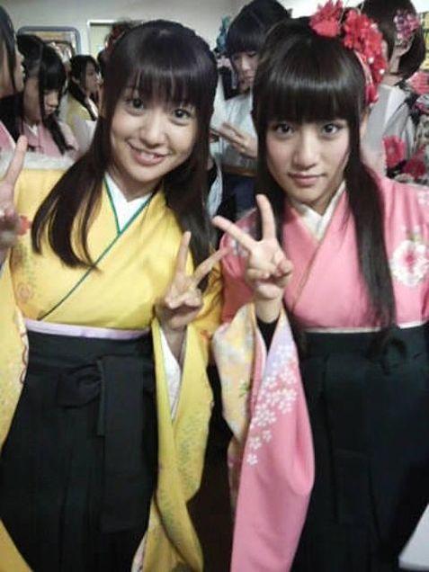 大島優子コリス高橋みなみたかみなゆうみなチームK チームA AKB48  桜の栞の画像(プリ画像)