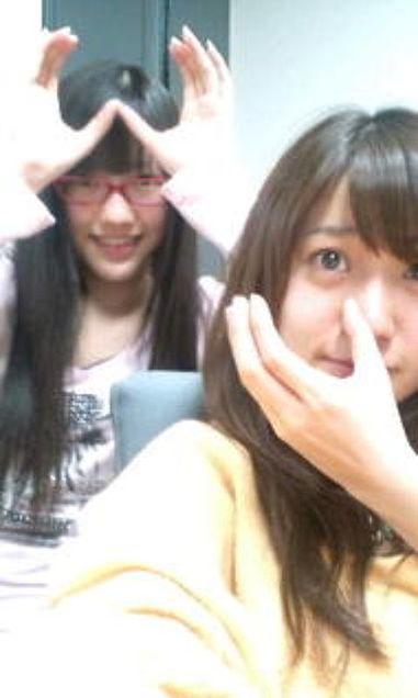 渡辺麻友まゆゆ大島優子コリスおしりシスターズすっぴんチームB チームK AKB48の画像 プリ画像