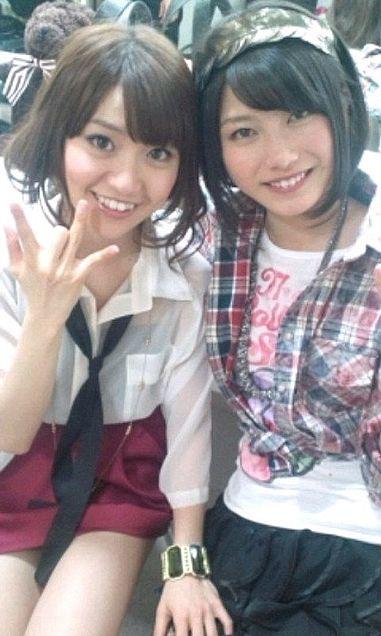 大島優子コリス横山由依ゆいはん Not yet  チームK AKB48の画像(プリ画像)