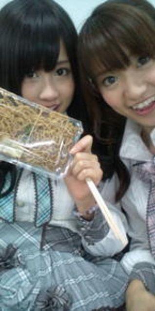 前田敦子あっちゃん大島優子コリスあつゆうチームA チームK AKB48  桜の栞の画像(プリ画像)