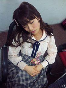 大島優子コリス寝顔チームK AKB48 バレンタインの画像(プリ画像)