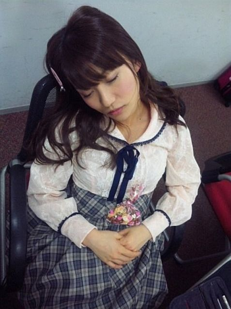 大島優子コリス寝顔チームK AKB48 バレンタインの画像 プリ画像