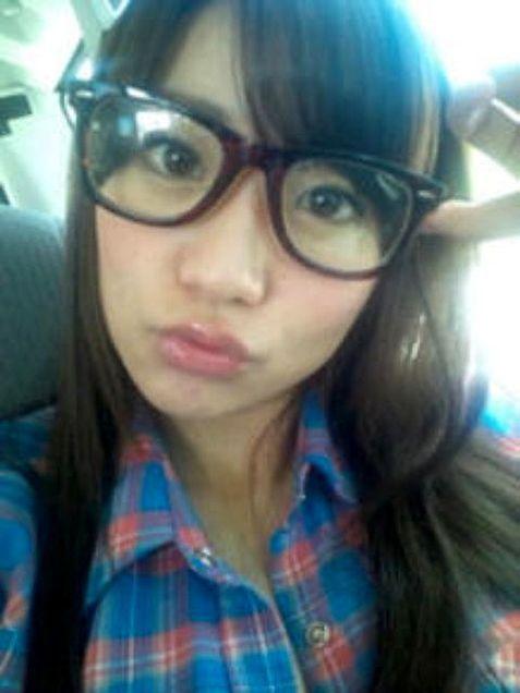 大島優子コリスメガネチームK AKB48の画像(プリ画像)
