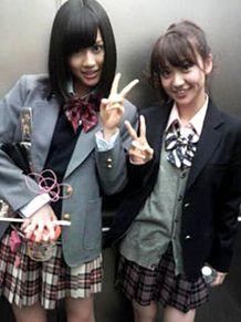 前田敦子あっちゃん大島優子コリス制服チームA チームK AKB48の画像(プリ画像)