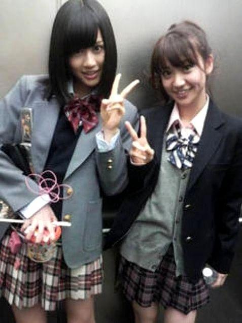 前田敦子あっちゃん大島優子コリス制服チームA チームK AKB48の画像 プリ画像